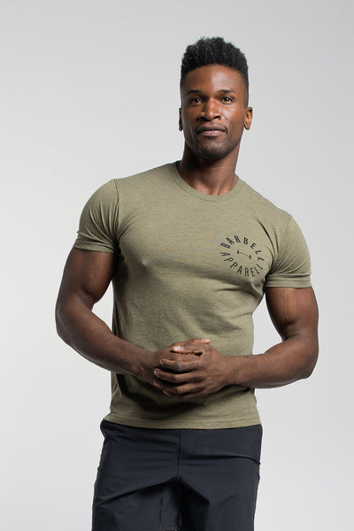 Full Circle Tee in Olive