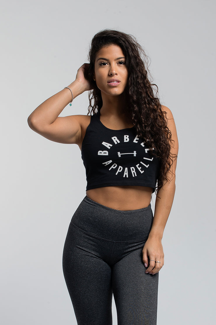 Full Circle Crop in Black