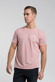 Full Circle Tee In Pink - thumbnail image no.1