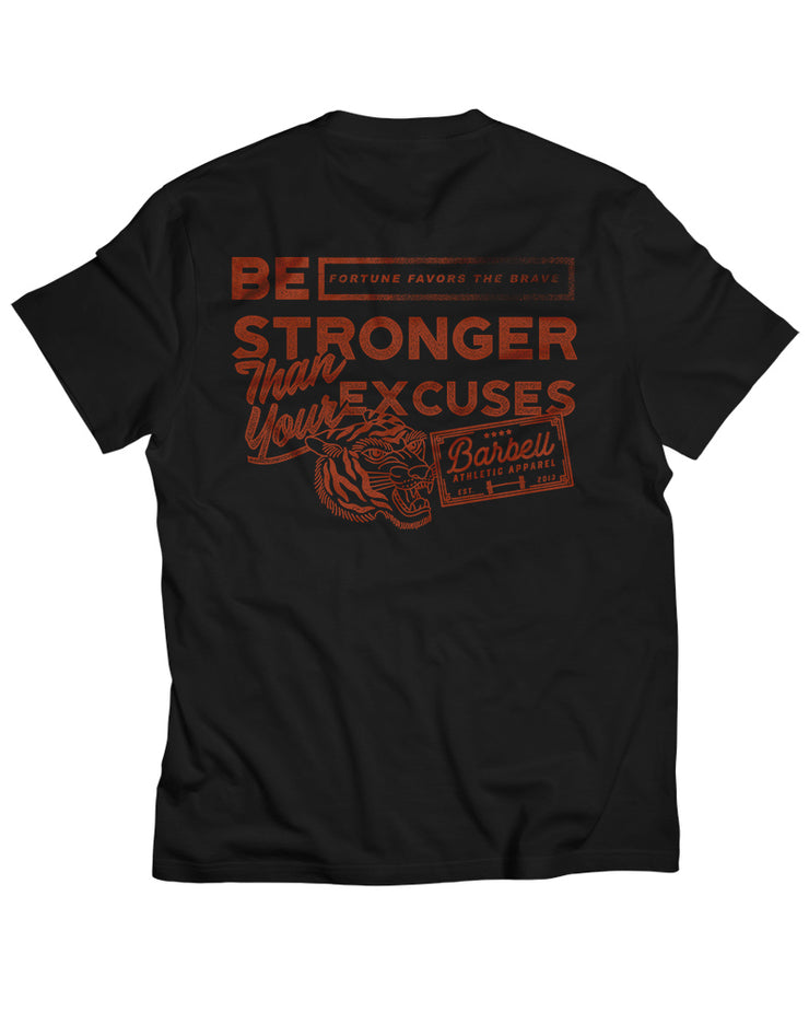 """The No Excuses"" Shirt in Black"