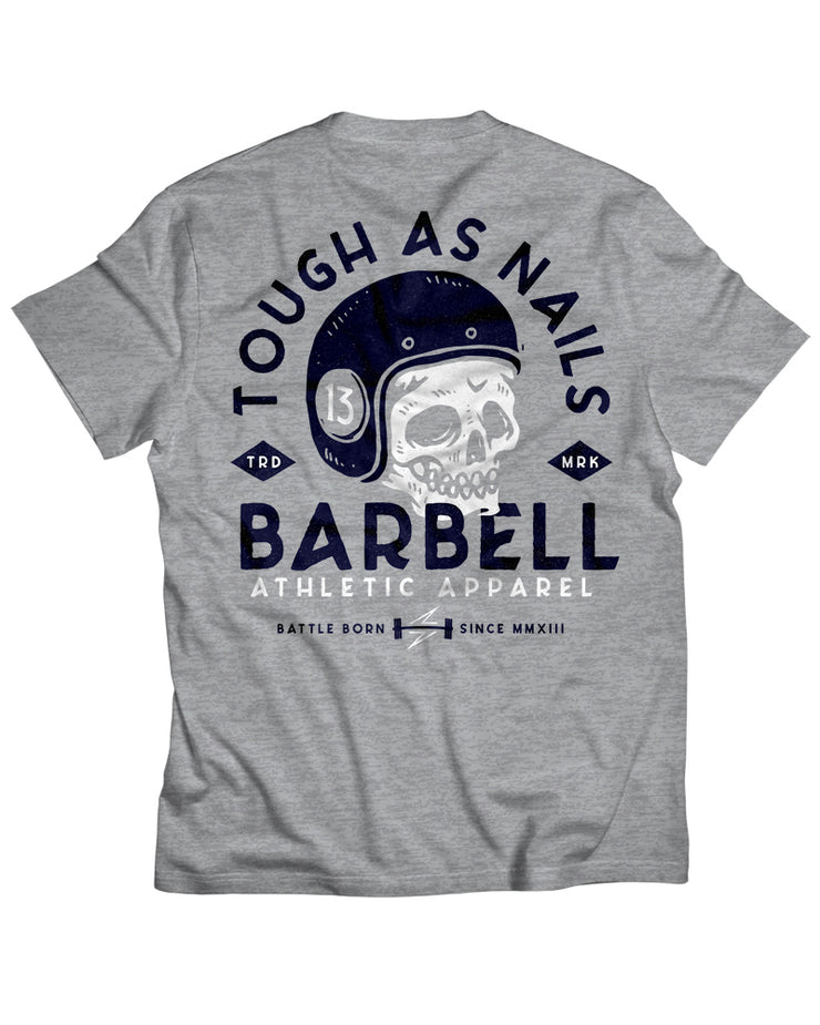 """Tough As Nails"" Shirt in Gray"