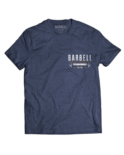 """Try Harder"" Shirt in Navy"