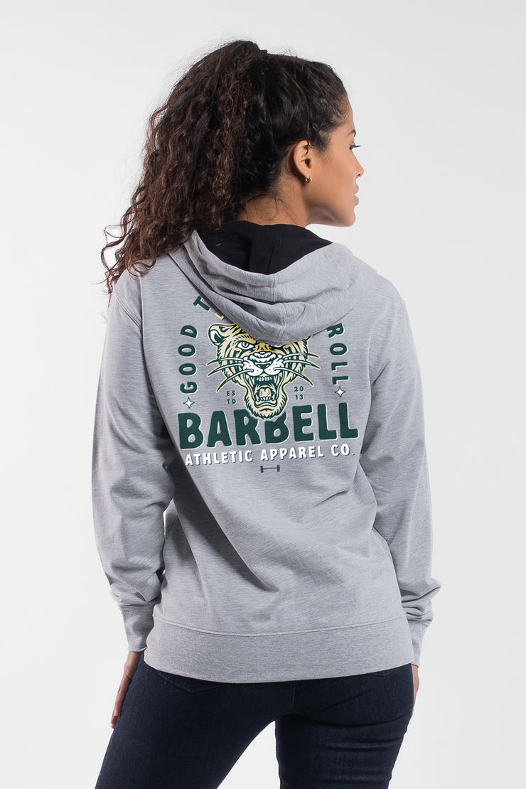 Good Times Hoodie in Gray - Womens - image no.2