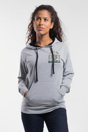Good Times Hoodie in Gray - Womens - thumbnail image no.1