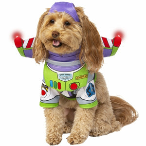 Buzz Lightyear Light Up Toy Story Pet Costume