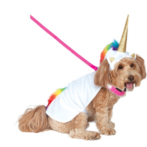 Unicorn Light Up Pet Costume
