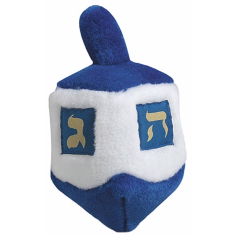Musical Dreidel Dog Toy