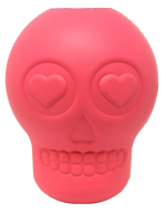 Load image into Gallery viewer, MKB Sugar Skull Durable Rubber Chew Toy & Treat Dispenser - Large -