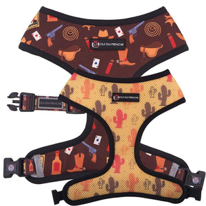 Oui Oui Frenchie Reversible Harness - Texas