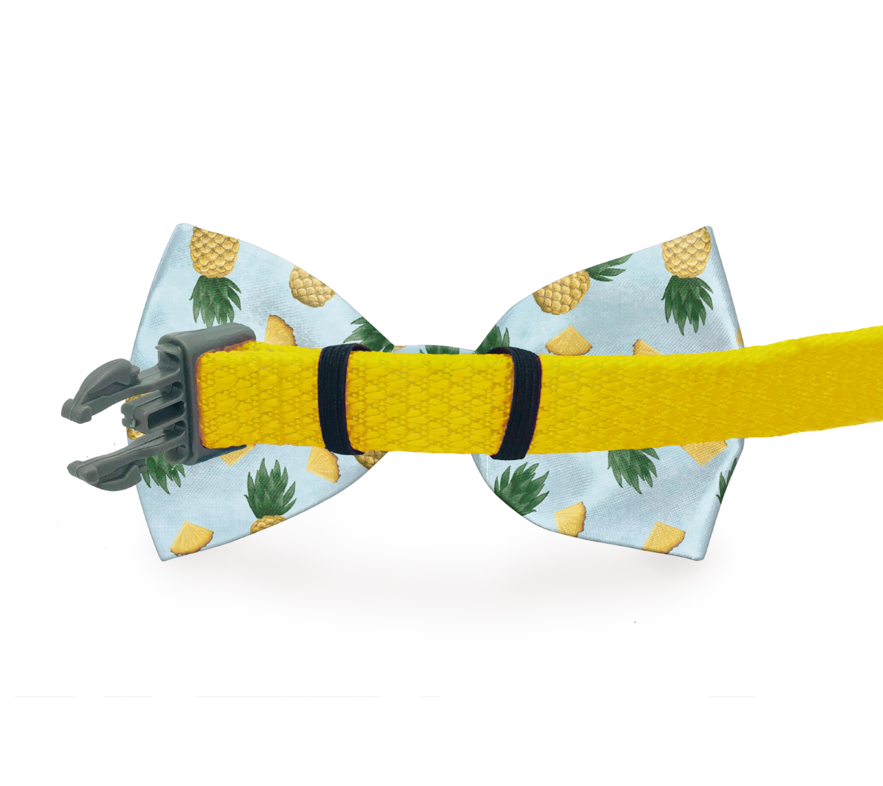 Chili Pepper Dog Bow Tie Black