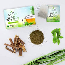 Load image into Gallery viewer, SuAyu Ayur Ayurvedic Green Tea (20 Enveloped Tea Bags) Pack of 1, 3, 5, 10 Boxes