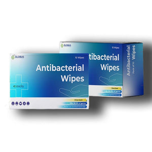 GoSocial Anti-Bacterial Wipes - Pack of  10 Packets (10x10 Wipes)