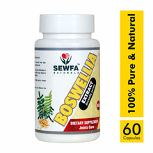 Load image into Gallery viewer, Sewfa Boswellia Extract for Joints Care 100% Natural & Herbal - 60 Capsules