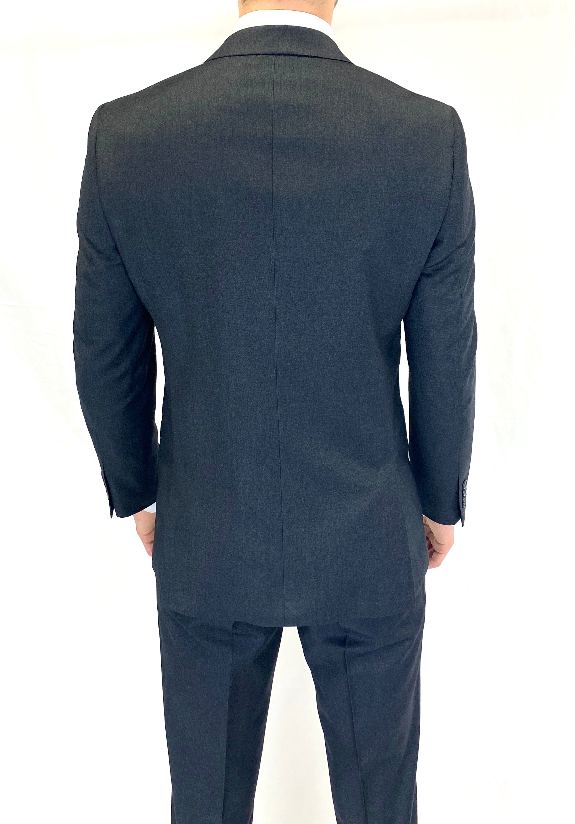 Renoir Slim Fit Suit in Charcoal