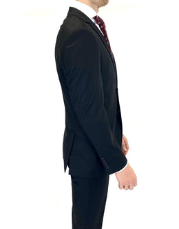 Renoir Slim Fit Suit in Black