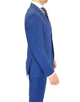 Renoir Extra Slim Suit in Cobalt