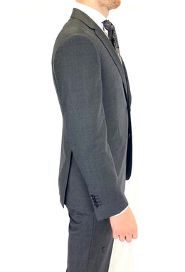 Paul Betenly Wool Suit in Charcoal