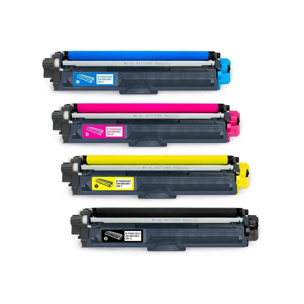 TONER BROTHER dcp-9020/ hl-3150cdn/hl-3170/mfc-9330 tn-221 (1 unidad/color)