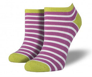 Sailor Stripe Comfort Cushioned Women's Ped