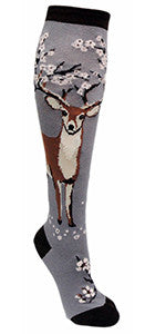 Antler Blossom (Dusk) Women's Knee Highs