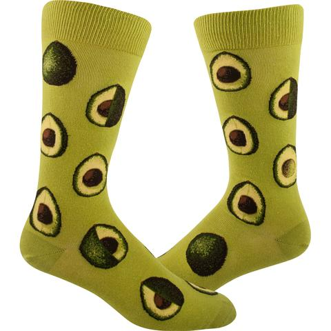 Avocado Phase Men's Crew Sock