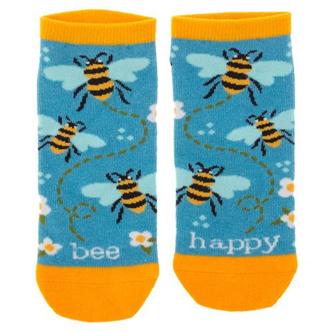 Bee Happy  Women's Ankle Sock