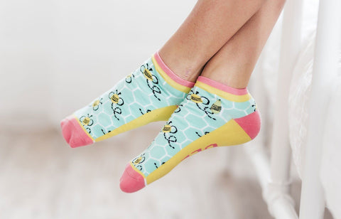 Bees Knees Ankle Socks