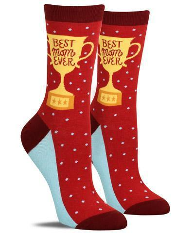 Best Mom Ever Women's Crew Socks