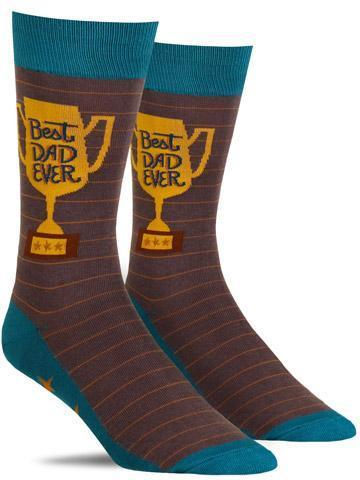Best Dad Ever Men's Crew Socks