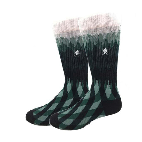 Bigfoot Forest Active Men's Crew Socks