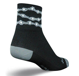 Bike Chain Ankle Socks