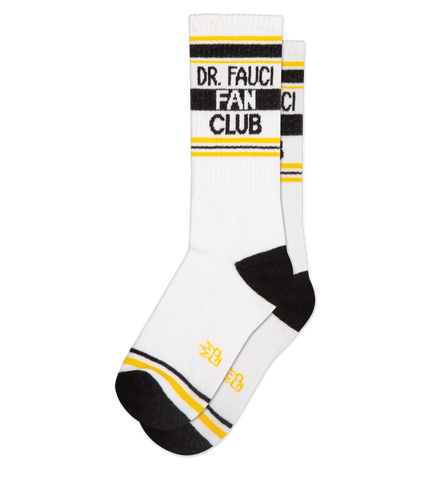 Dr. Fauci Fan Club  Unisex Crew Socks