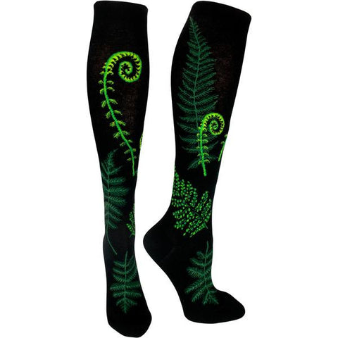 Ferns and Fiddleheads Women's Knee Highs