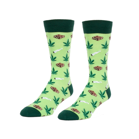 Joints and Brownies Men's Crew Sock