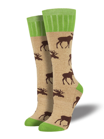 Outlands Moose (Hemp) Women's Boot Sock