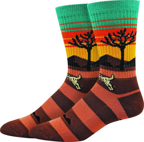 Joshua Tree Active Men's Crew Socks