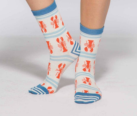 Maine Lobster Women's Crew Socks