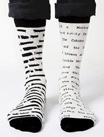Banned Books Men's Crew Socks