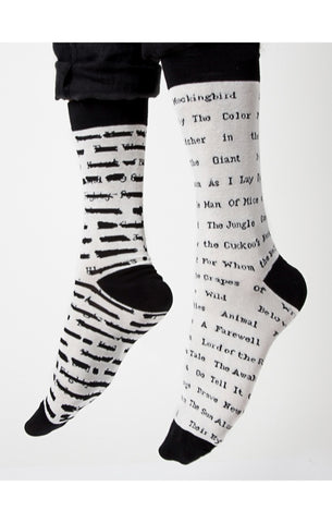 Banned Books Women's Crew Socks