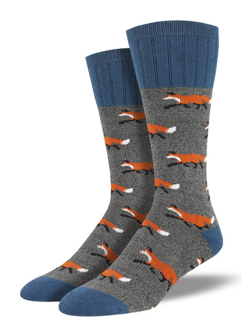 Outlands Fox (Charcoal) Men's Boot Sock