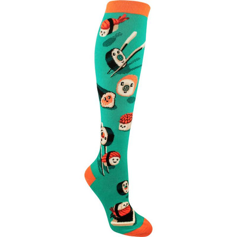 Silly Sushi Women's Knee Highs