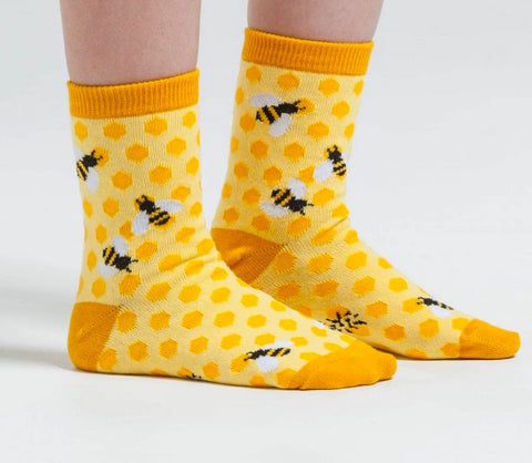 Bees Knees Kids (7-10) Crew Socks