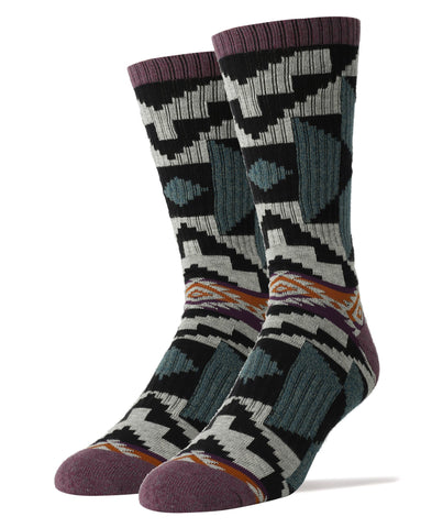 Dusk Wind Athletic Men's Crew Sock
