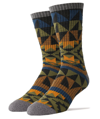 Autumn Night Athletic Men's Crew Sock