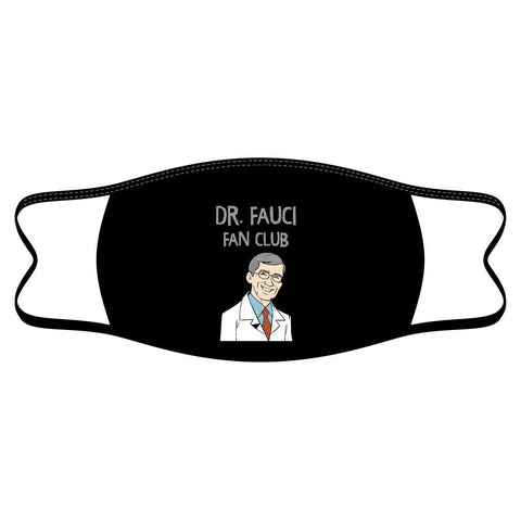 Dr. Fauci Fan Club Reusable Non-Medical Face Mask