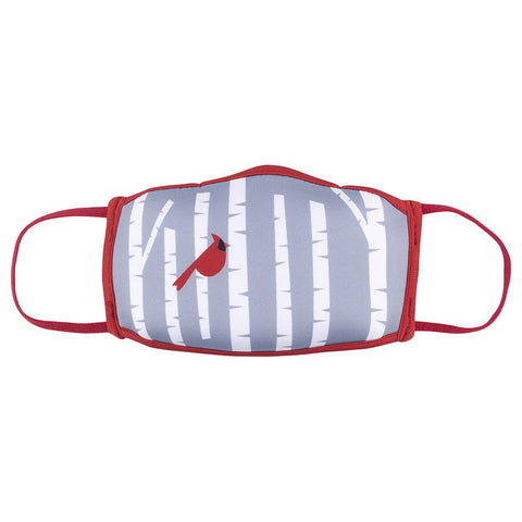 Cardinal in Birches Reusable Non-Medical Face Mask