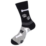 I ❤️ My Rescue (Grey/ Black) Unisex Crew Socks
