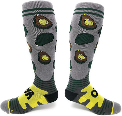 Avocado Unisex Compression Socks