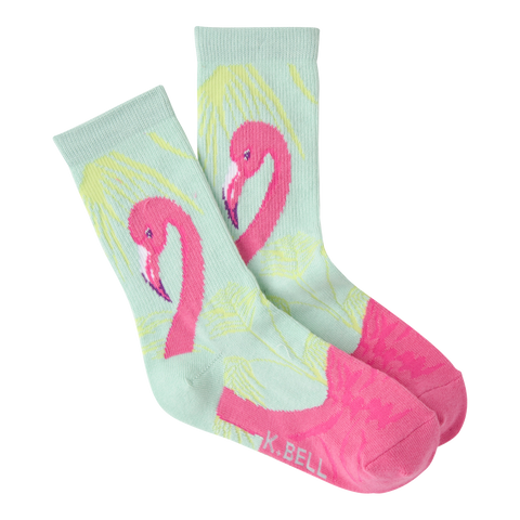 Flamingo Kids' (Age 5-9) Socks