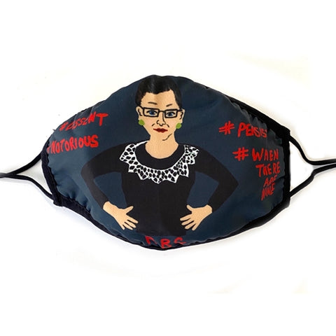 RBG Dissent Reusable Non-Medical Face Mask